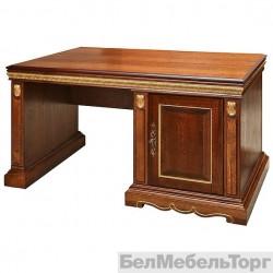 Стол письменный «Милана 3П»  П 396.06  черешня с золочением