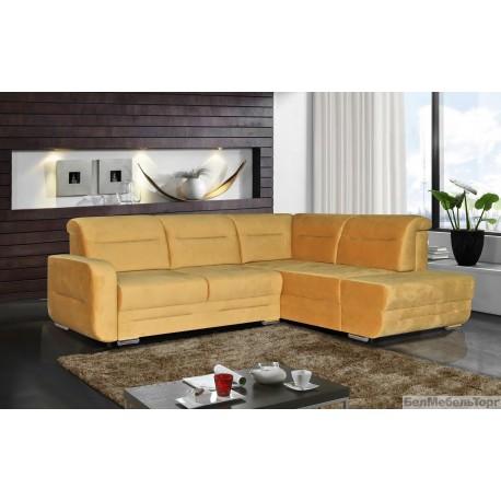 Угловой тканевый диван «Фреш»