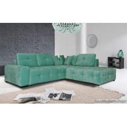 "Угловой тканевый диван ""Кубус"" 2мL/R.90.4мR/L"