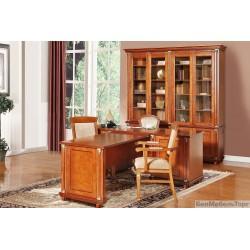 Мебель для кабинета «Валенсия»  каштан