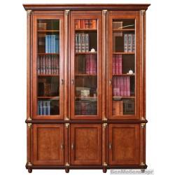"""Шкаф для книг """"Валенсия 3"""" П 444.23"""