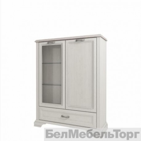 Шкаф с витриной 1V1D1SL Монако