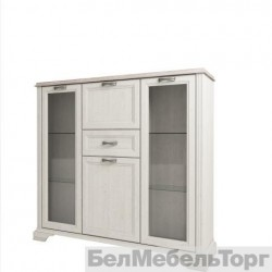 Шкаф с витриной 2V2D1S Монако