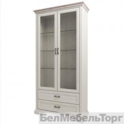 Шкаф с витриной 2V2S Монако