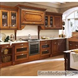 Кухня из массива ольхи Норфолк 314к-113