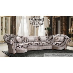 "Угловой тканевый диван ""Мадлен"" 4L.30м.4R"