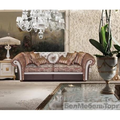 Трехместный тканевый диван Мадлен