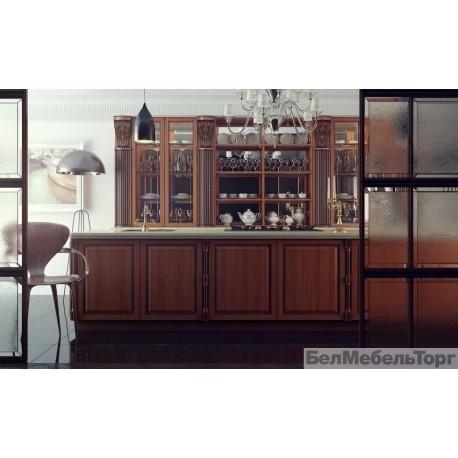 Кухня из массива Ольхи Т 308/108