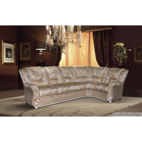 Угловой тканевый диван Изабель 2