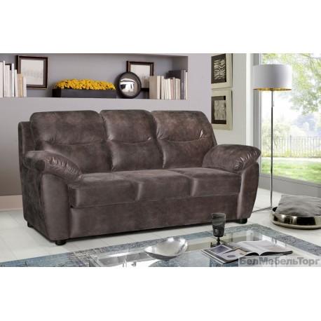 Трехместный тканевый диван Плаза