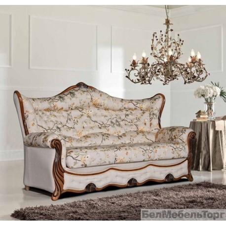 Трехместный тканевый диван Патриция