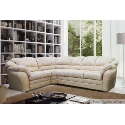 "Угловой тканевый диван ""Сенатор"" 3мL/R.90.1R/L"