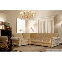 """Угловой тканевый диван """"Цезарь"""" 3мL/R.90.1R/L"""