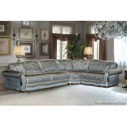 """Угловой тканевый диван """"Латина"""" 3мL/R.90.1R/L"""