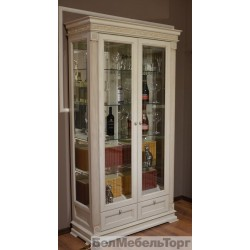 Виола шкаф витрина ШВ2