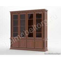 Виола шкаф для книг (ШБК-4)