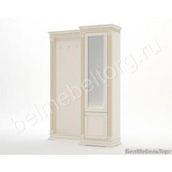 Виола шкаф с зеркалом и панелью для прихожей ШПр-2