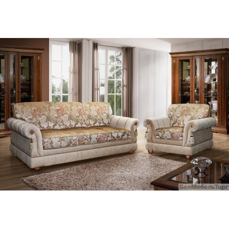 Набор мягкой мебели из ткани Цезарь