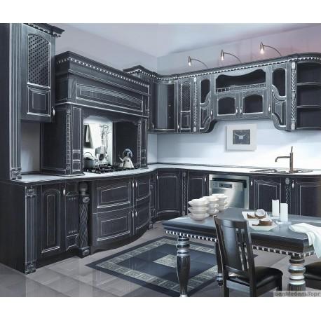 Кухня из массива Ясеня Т 512\114