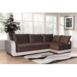 """Угловой тканевый диван """"Чарли 1"""" 2ML/R6MR/L"""