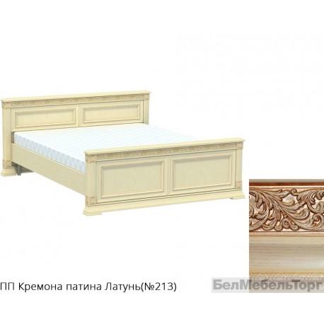 Кровать двуспальная высокая «Патриция» КВ-160