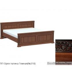 Кровать двуспальная высокая «Патриция» КВ-180