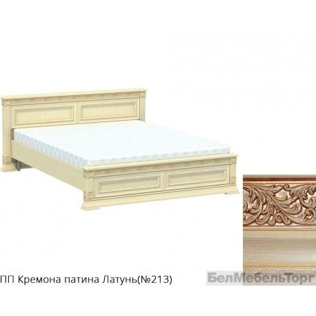 Кровать двуспальная низкая «Патриция» КН-160