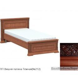 Кровать односпальная низкая «Патриция» КН-90