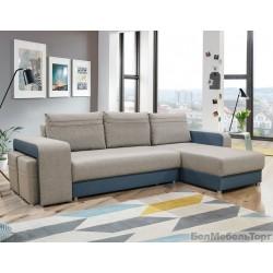 """Угловой тканевый диван """"Bueno"""" 2ML/R6R/L"""