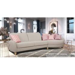 """Угловой тканевый диван  """"Бали"""" 3мL/R.4R/L"""