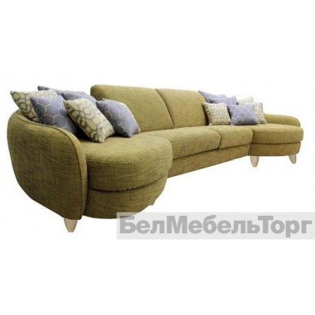 Угловой тканевый диван Бали 4L 30M 4R