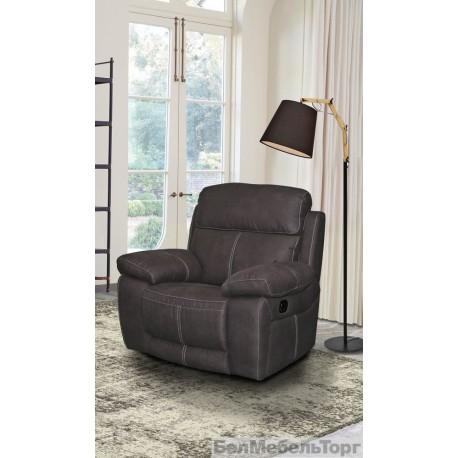 Тканевое кресло-реклайнер Верона 1Р