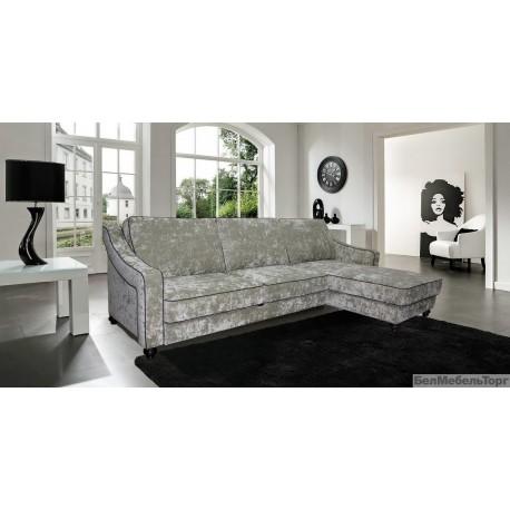 """Угловой тканевый диван """"Багира"""" 3мL/R8мR/L"""