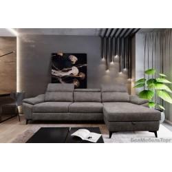 """Угловой тканевый диван """"Оливер"""" 2мL/R.8мR/L"""