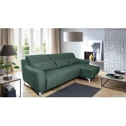 """Угловой тканевый диван """"Киото"""" 2мL/R.8мR/L"""