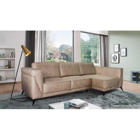 """Угловой тканевый диван """"Драйв"""" 2мL.8мR"""