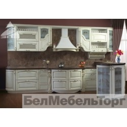 Кухня из массива Ольхи Т 307/110