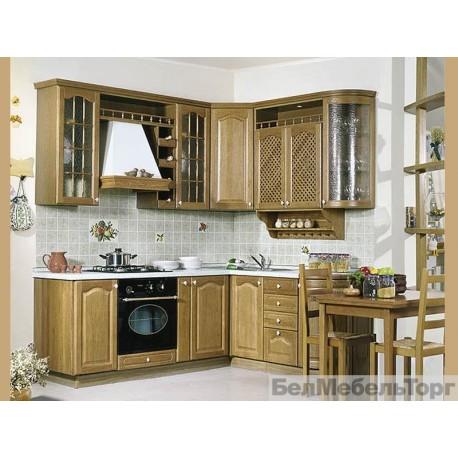 Кухня из массива Сосны 3 тип 4