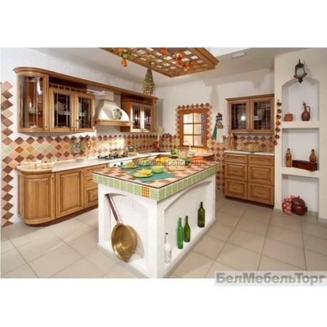 Кухня из массива Сосны 1 тип 1