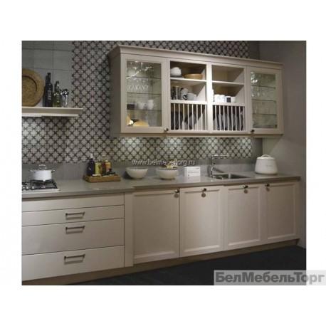 Кухня с фасадом крашеный МДФ RAL 1013