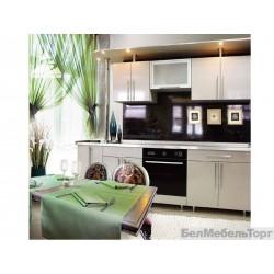 Кухня монохром Платина