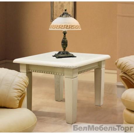 Верди 2 стол журнальный П108.02 слоновая кость