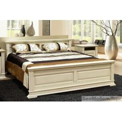 Кровать двойная 18 «Верди Люкс»  П 434.14м слоновая кость