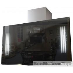 Вытяжка Krona NAOMI Silent mirror 900 black 5P-S