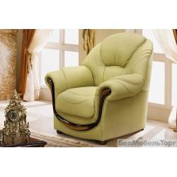 Кожаное кресло  Дельта