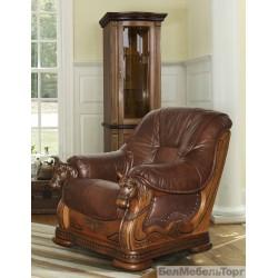 Кожаное кресло Фаворит