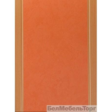 Фасад Оранжевый (кромка Бук)