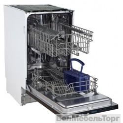 Полновстраиваемая посудомоечная машина Flavia BI 45 IVELA Light