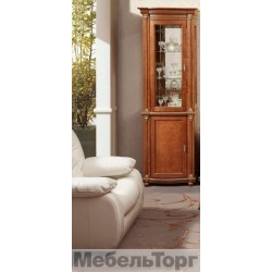"Шкаф с витриной ""Валенсия 1з"" П 244.14"