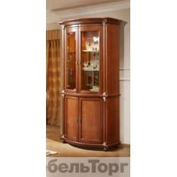 "Шкаф с витриной ""Валенсия 2з"" П 244.15"